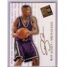 Ray Allen 1998 Press Pass Authentics #39 - Sonics, Celtics, Heat
