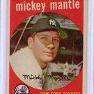 Mickey Mantle 1959 Topps #10 Yankees HOF