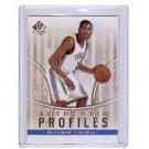 Kevin Durant 2008-09 SP Authentic Authentic Profiles #AP-39 Thunder, Warriors