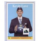 Kevin Love RC 2008-09 Topps 1958-59 Variations #200 Timberwolves, Cavs