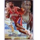 Allen Iverson RC 1996-97 Flair Showcase Row 1 #3  76ers HOF