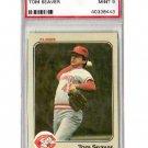 Tom Seaver 1983 Fleer #601 PSA 9 Mint Reds, Mets HOF