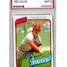 Tom Seaver 1980 Topps #500 PSA 9 Mint Reds, Mets HOF