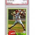 Tom Seaver 1981 Topps #220 PSA 9 Mint Reds, Mets HOF