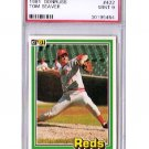 Tom Seaver 1981 Donruss #422 PSA 9 Mint Reds, Mets HOF