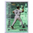 Wade Boggs 2000 Finest Moments Refractor #FM4  Rays, Yankees, Red Sox HOF