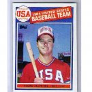 Mark McGwire RC 1985 Topps #401 RC A's, Cardinals, USA RC