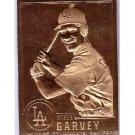 Steve Garvey 1996 Danbury Mint 22 Kt Gold Card #37 LA Dodgers