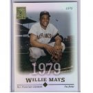 Willie Mays 2004 Topps Tribute #1 Giants