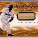 Tony Gwynn 2000 SP Game-Bat Edition Piece of the Game Authentic Bat #TGw Padres
