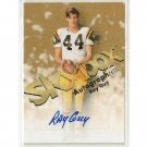 Ray Guy 2012 Upper Deck Fleer Retro Football 1998 Autographics Autograph #98AU-GU Raiders  HOF