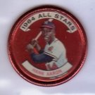 Hank Aaron 1964 Topps Coins All-Stars #149 Braves HOF