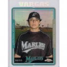 Jason Vargas RC REF 2005 Topps Chrome Update Refractor RC #UH27 Royals