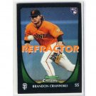 Brandon Crawford REF RC 2011 Bowman Chrome Refractor #25 RC Giants