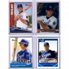 Mike Moustakas RC Lot 4-Card Rookie Lot Royals