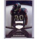 Andre Johnson 2008 Bowman Sterling White Refractor Jersey  #77 Texans