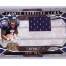 Eddie Royal RC #/50 2008 Rookie Gridiron Gems Game-Used Jersey #213 RC Chargers, Broncos #50