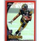 Emmanuel Sanders RC 2010 Topps Chrome Orange Refractor #C106 Broncos, Steelers