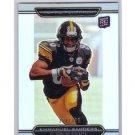 Emmanuel Sanders 2010 Topps Platinum White Refractor RC #75 Broncos, Steelers #/999