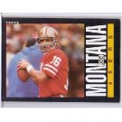 Joe Montana 1985 Topps #157 49ers HOF