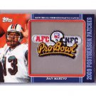 Dan Marino 2009 Topps Postseason Patches #PPR24 Dolphins 1984 Commemorative Pro-Bowl Patch HOF