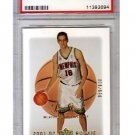 Pau Gasol RC PSA 10 2001 UD Sweet Shot #120 PSA Gem Mint 10 Lakers, Bulls, Grizzlies #/600