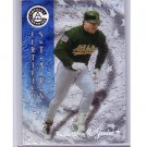 Mark McGwire 1997 Pinnacle Totally Certified Platinum Blue #139 A's, Cardinals #/1999