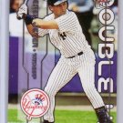 Derek Jeter 2003 Fleer Ultra Double Up #1DU Yankees w/ Piazza