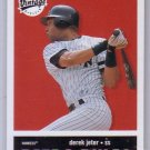 Derek Jeter 2001 Upper Deck Vintage Retro Rules #R5 Yankees