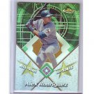 Alex Rodriguez Refractor 2001 Topps Finest All-Stars Refractor #FAS3  Yankees