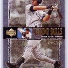 Derek Jeter 2000 UD Black Diamond Diamond Skills #S6 Yankees