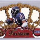 Tiki Barber RC 1997 Pacific Crown Royale #87 RC Giants