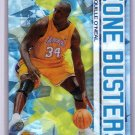 Shaquille O'Neal 2002-03 Topps Chrome Zone Busters Refractor #ZB1 Lakers, Magic, Heat  Shaq
