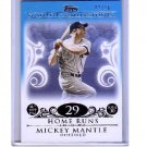 Mickey Mantle #/10 2008 Topps Moments & Milestones Blue #5-29 HR Yankees