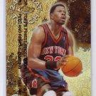 Patrick Ewing 1999-00 Topps Finest 24 Karat Touch Refractor #KT4 Knicks