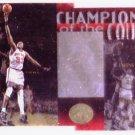 Patrick Ewing 1995-96 SP Championship Series Champions of the Court Die-cut #C18 Knicks HOF