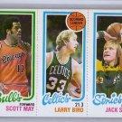 Larry Bird RC 1980-81 Topps #SMLBJS Celtics HOF