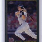 Derek Jeter 2001 Topps Chrome #77 Yankees