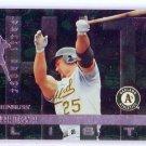 Mark McGwire 1997 Donruss Hit List Press Proof #413 A's, Cardinals