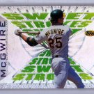 Mark McGwire 1997 Topps Sweet Strokes #SS10 A's, Cardinals