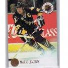 Mario Lemieux 1993-94 Leaf Hat Trick Artists #4  Penguins HOF