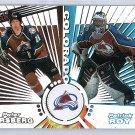 Patrick Roy 1997-98 Pacific Dynagon Tandems #25 Forsberg, Lemieux Avalanche