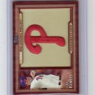 Cole Hamels 2011 Topps Throwback Manufactured Patch #TLMP-CH Phillies