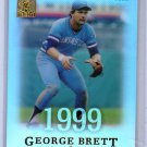 George Brett 2004 Topps Tribute Hall of Fame Cut Signature Edition #73 Royals HOF