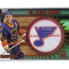 Brett Hull 1997-98 Pacific Crown Collection Team Checklist #21 Blues, Red Wings