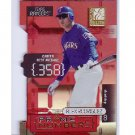 Alex Rodriguez #/350 2001 Donruss Elite Prime Numbers Die-Cut #PN-1C Yankees