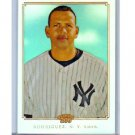 Alex Rodriguez #/499 Refractor 2010 Topps Chrome 206 Refractor #TC20 Yankees