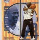 Michael Jordan 2001-02 Upper Deck Hardcourt #121 Wizards Bulls HOF