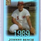 Johnny Bench 2004 Topps Tribute Hall of Fame Cut Signature Edition #8 Reds