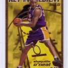 Shaquille O'Neal 1997-98 Fleer Key Ingredient Gold #9 Lakers, Magic Shaq